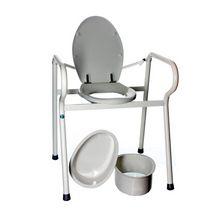 XXL toilet support frame
